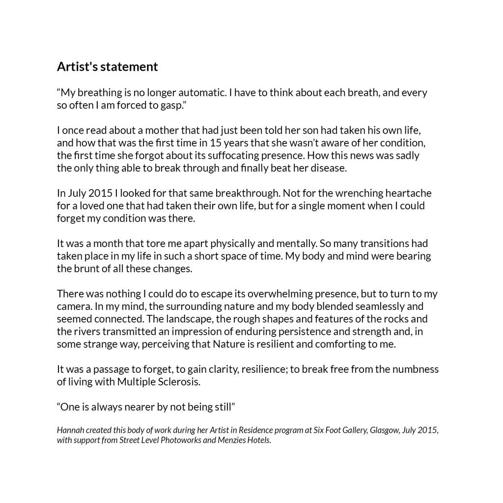 Artist's statement Awakenings